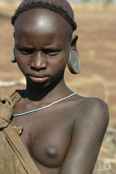 Negras africanas desnudas