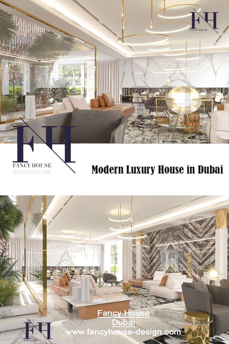 Modern Interior Decoration For Hallway In Gold Color. Get