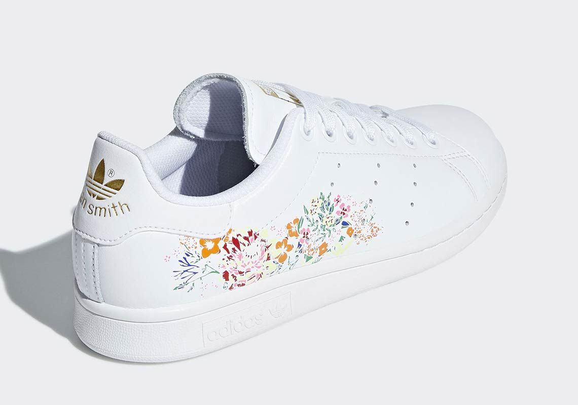 adidas Stan Smith Floral Print BC0257 Available Now | Stan ...