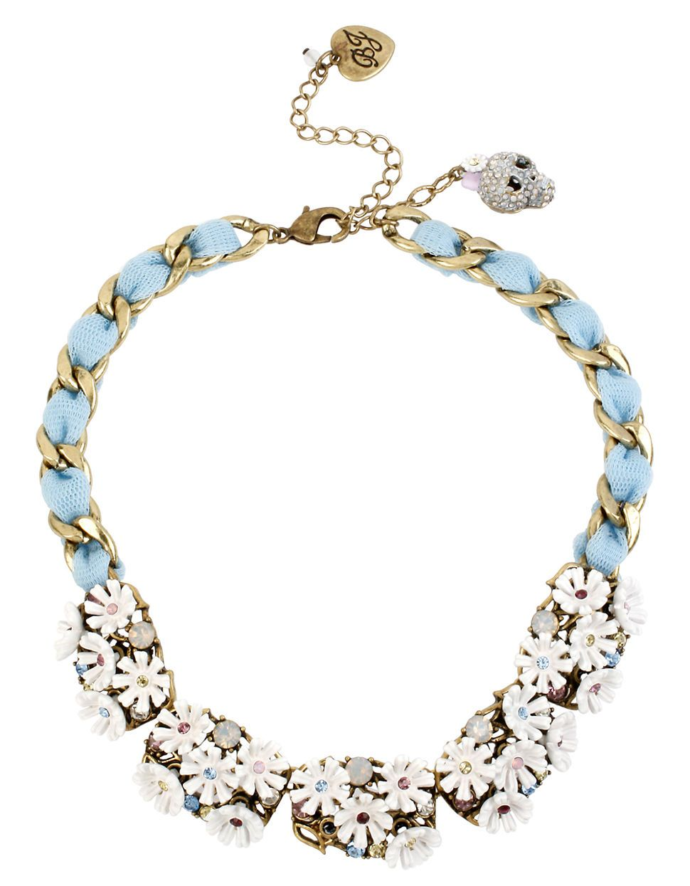Flower Cluster Frontal Necklace by BETSEY JOHNSON | Hudson's Bay