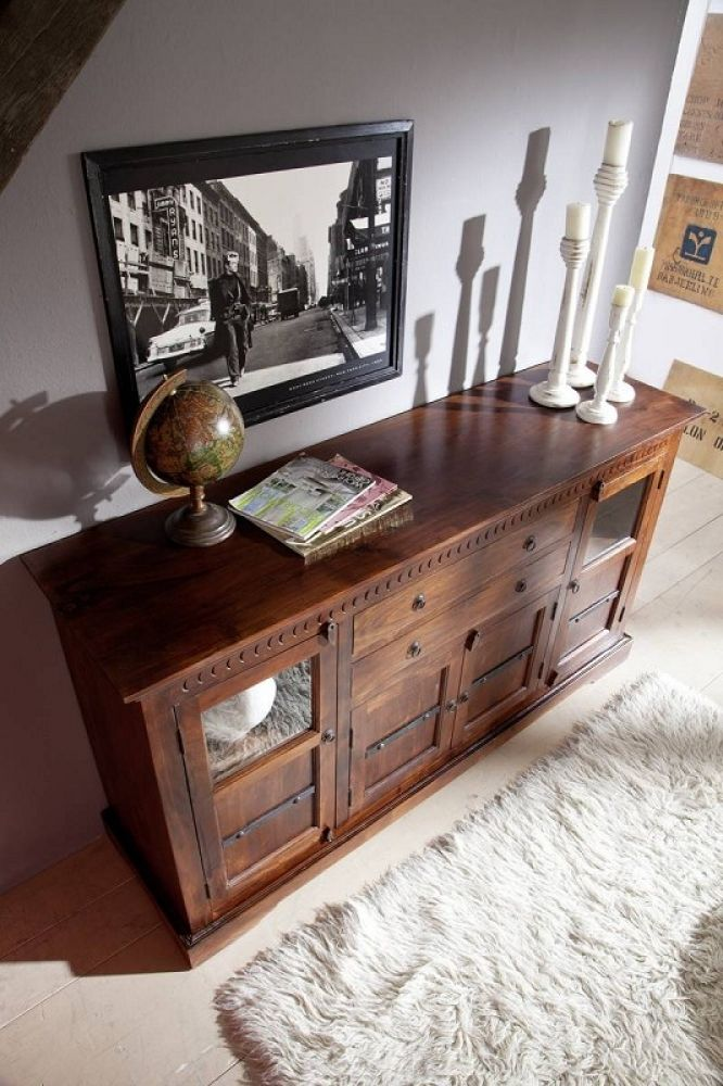mobel kolonialstil sideboard akazie massiv mabel oxford 453 berlin