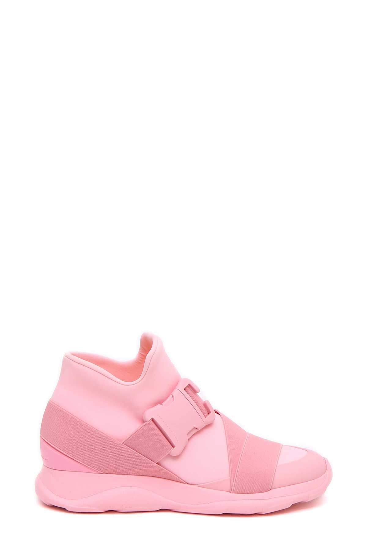 Christopher Kane High-Top Sneakers with Leather Gr. EU 40 DTvimzr