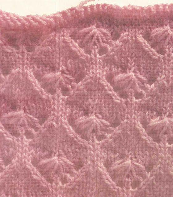 Patrón #1027: Capullos de Tulipanes a Dos Agujas | CTejidas [Crochet ...