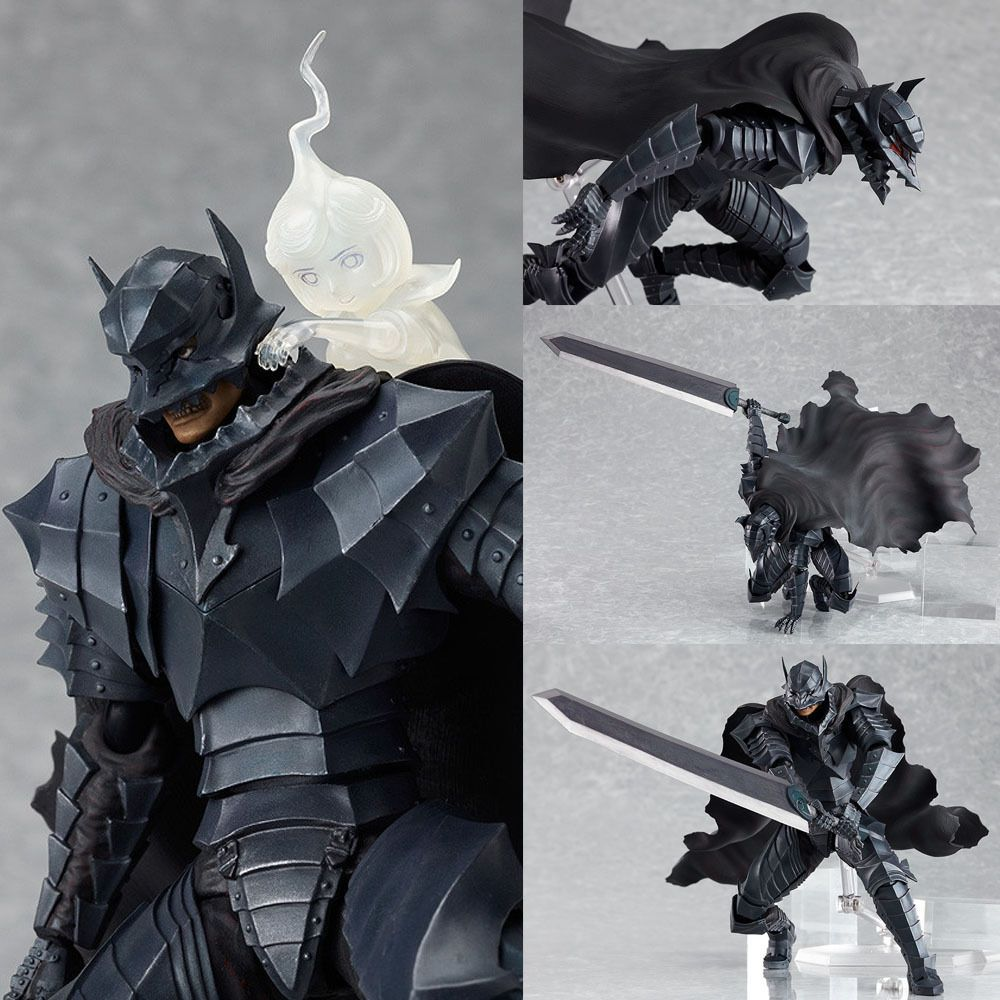 Figma SP 046 Guts Berserk Armour Ver Anime Figure JPN
