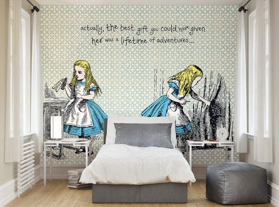 Best Photo Wallpaper Wall Murals Alice In Wonderland By 640 x 480