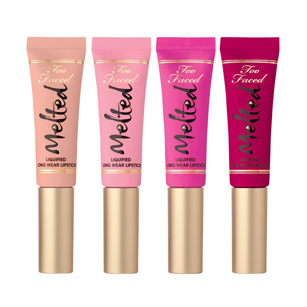 """Melted Kisses Long Wear Lipstick - Too Faced """"What Pretty Girls Are Made Of"""" #TooFaced"""