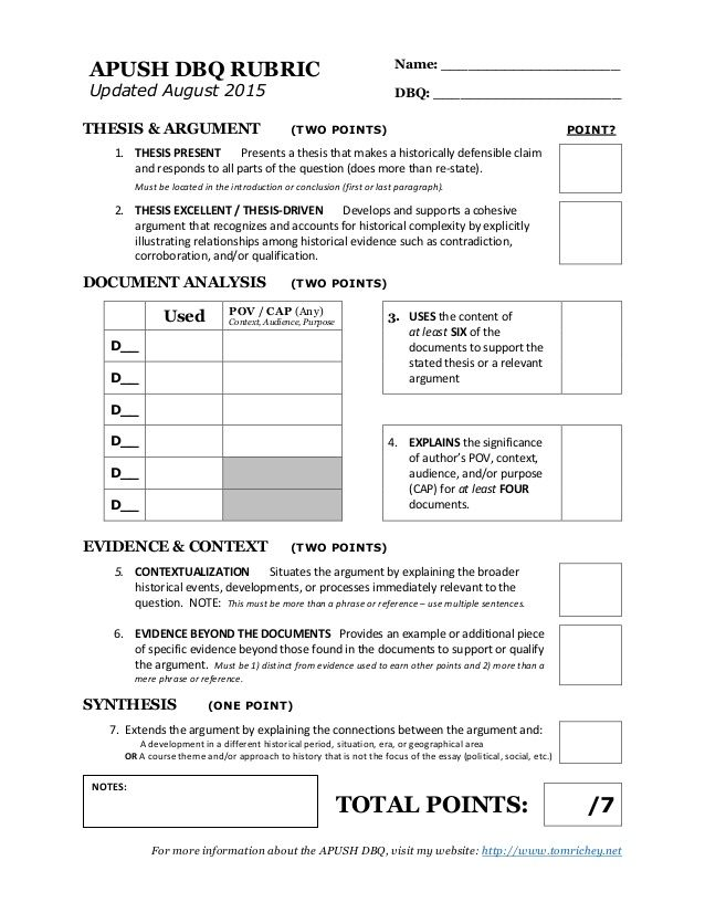 ap rubric essay Criteria exemplary 4 proficient 3 needs improvement 2 unacceptable 1 student grade teacher grade thesis & main points informative intro, grabs attention, general.