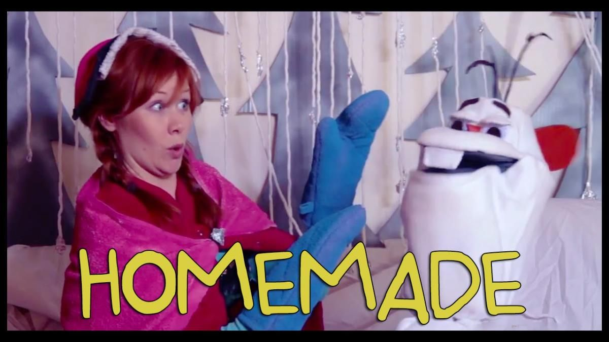 A Homemade, Live-Action Remake of the Official Trailer for the Animated Disney Film 'Frozen'