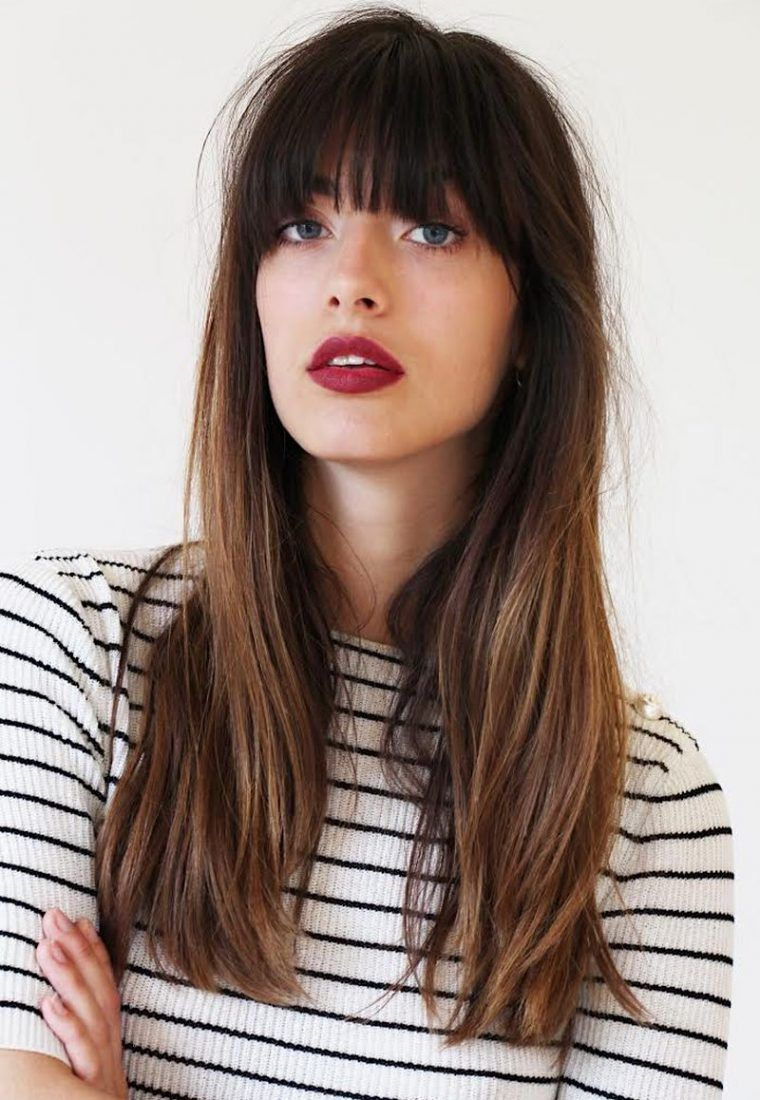French Girl Beauty Guide Hair Styles Long Hair With Bangs