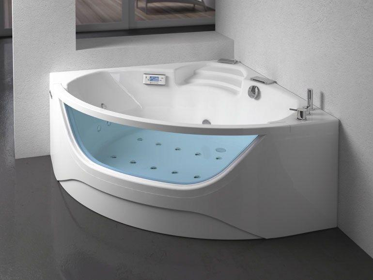 Vasca Da Bagno Piccola Ad Angolo : Creare una piccola spa domestica non è più un miraggio grazie