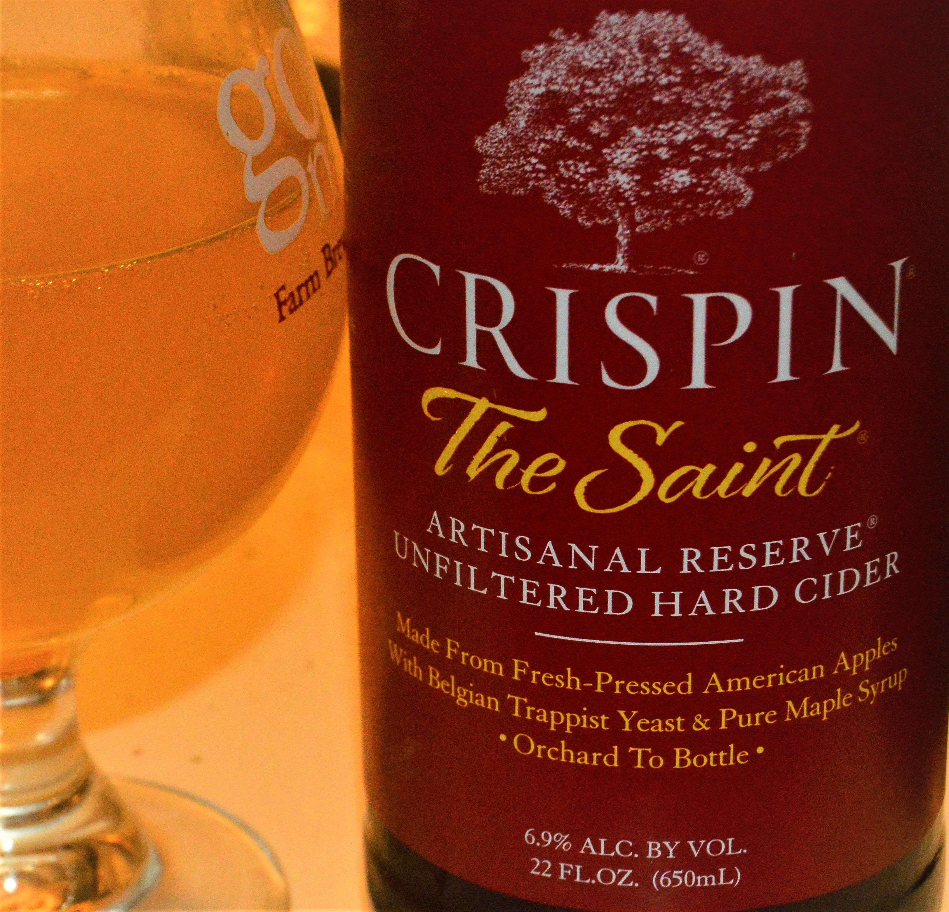 The Saint Apple Pear Cider With Trappist Ale Wine Yeast Crispin Cider Company Cider Drinks Wine Yeast Apple Wine