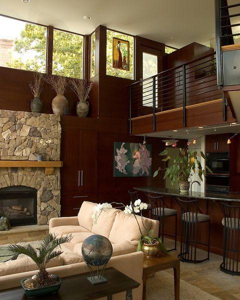 Modern Home Additions: A Modern Great Room Addition In A Richmond, Virigina Home