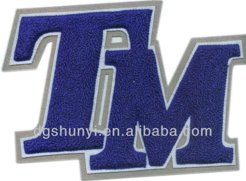 [Single Count] Custom and Unique Numbers 2 Iron On Embroidered Applique  Patch {White Colored}
