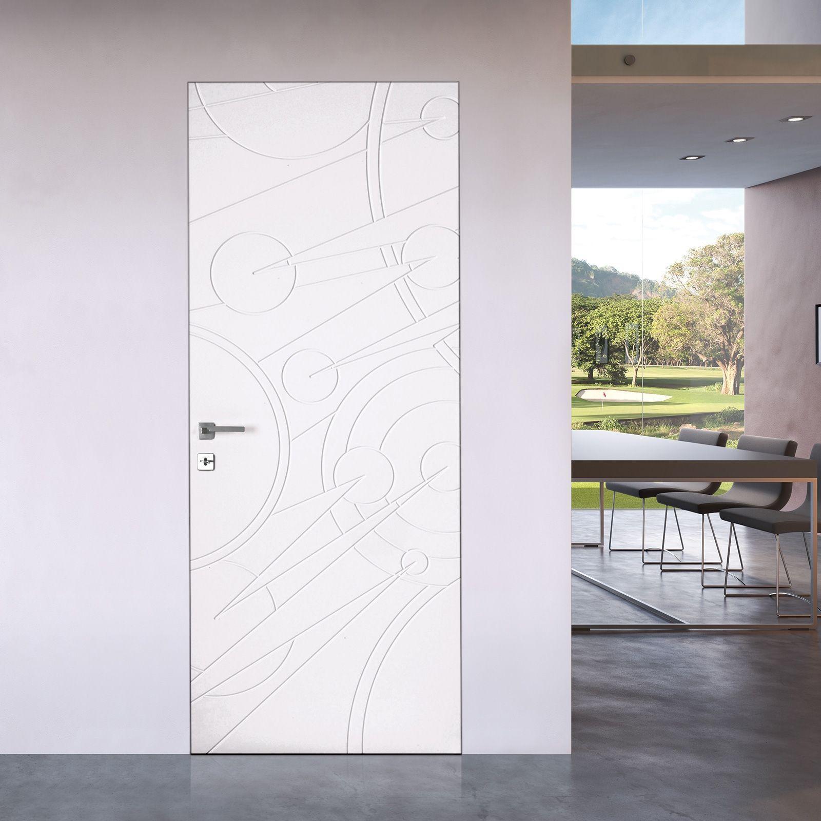 Photo of Porta da interno walldoor in legno decorato, modello Andromeda. Scopri le caratt…,Porta da …