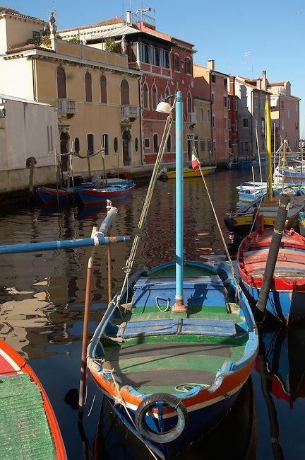 Fishing Boats on Riva Vena canal - Chioggia - Veneto