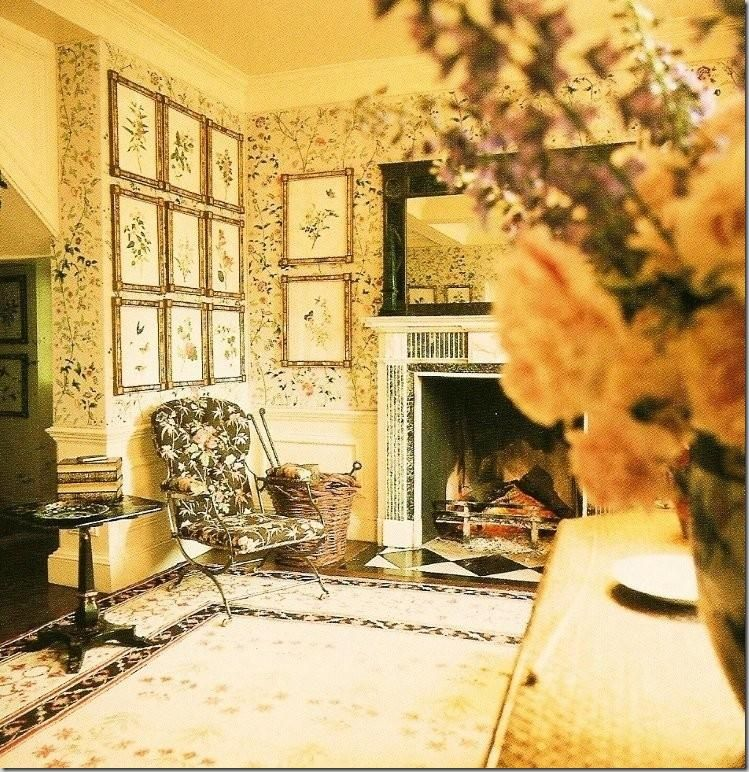 Kennedy Manor Dining Room: Entrance Hall At Turville With Fireplace.