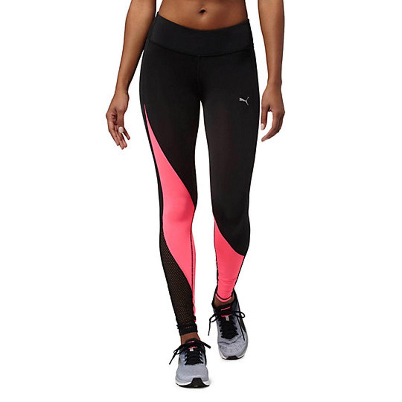 PUMA Explosive Tights Women | Black / Knockout Pink (515116-03)