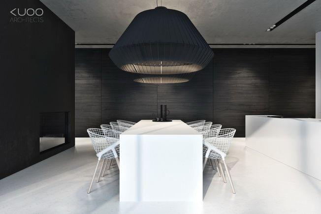 Private House autorstwa KUOO Architects  Kitchen  Pinterest  디자인