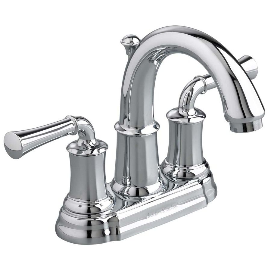 American Standard Portsmouth Polished Chrome 2-Handle 4-In Centerset ...