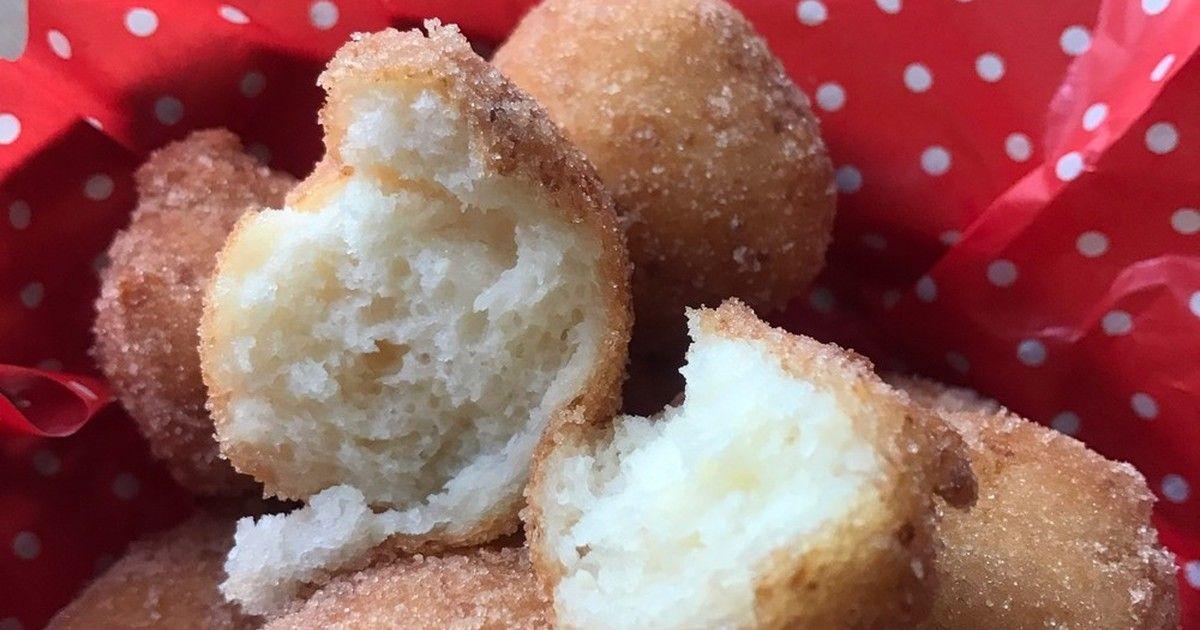ホットケーキミックスでふわふわドーナツ by 小豆ん子 [クックパッド] 簡単おいしいみんなのレシピが269万品