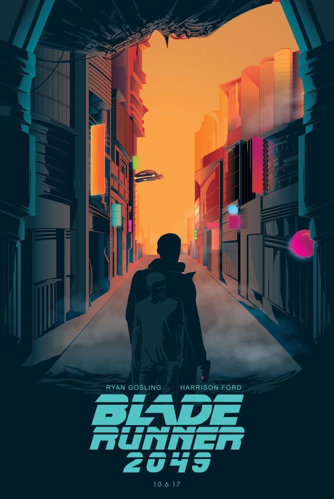 Blade Runner 2049 Movie 2017 Harrison Ford Ryan Gosling Art Silk Canvas Poster