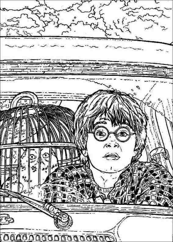 Harry Potter 070 Coloring Page Harry Potter Coloring Pages Harry Potter Art Drawings Harry Potter Crafts
