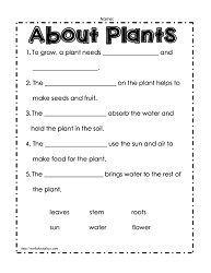 image result for 4th grade science plants worksheets girls science worksheets plant lessons. Black Bedroom Furniture Sets. Home Design Ideas