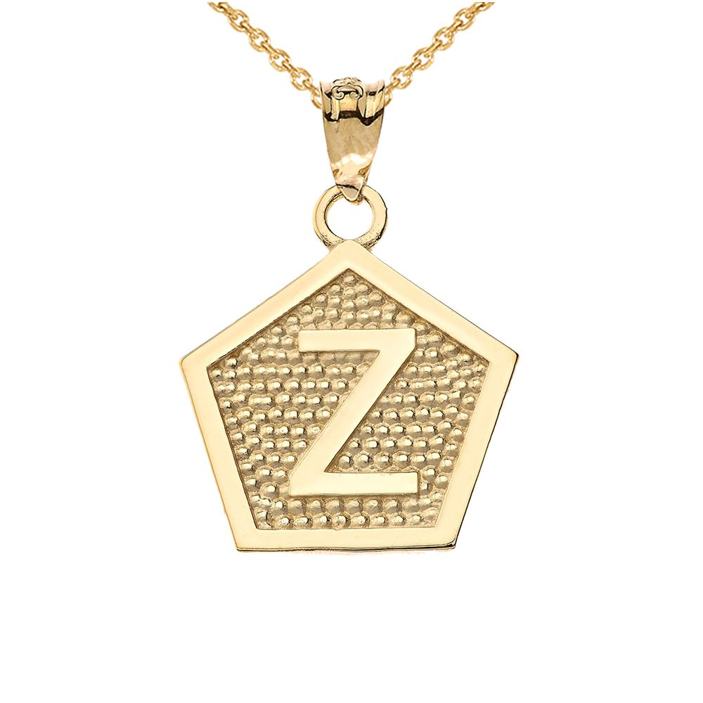 2df3e28614c4a Yellow Gold Letter