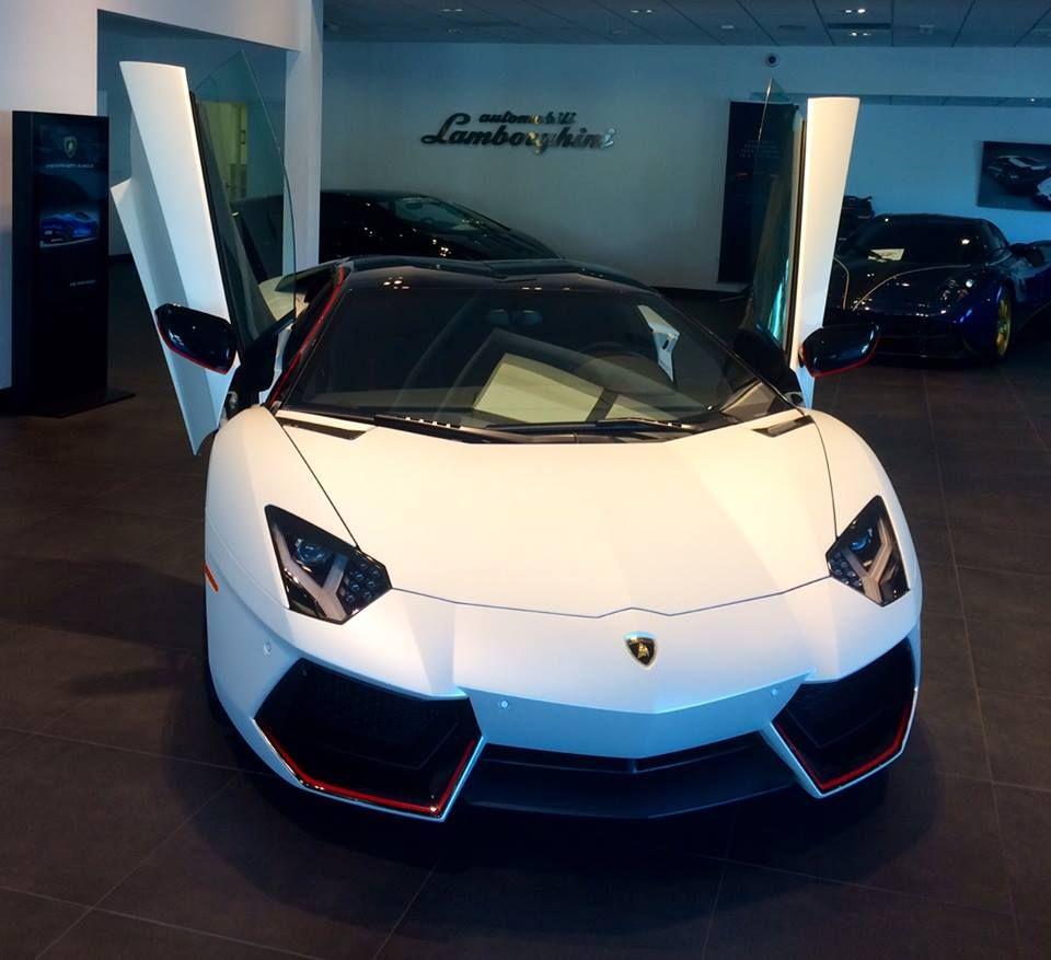 Lamborghini Aventador Pirelli Edition Spotted for Sale #lamborghiniaventador
