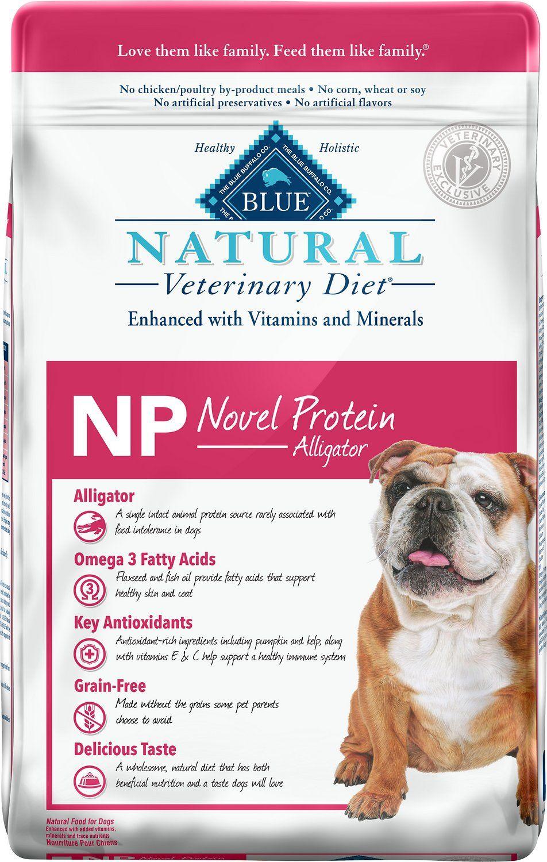 Blue buffalo natural veterinary diet np novel protein