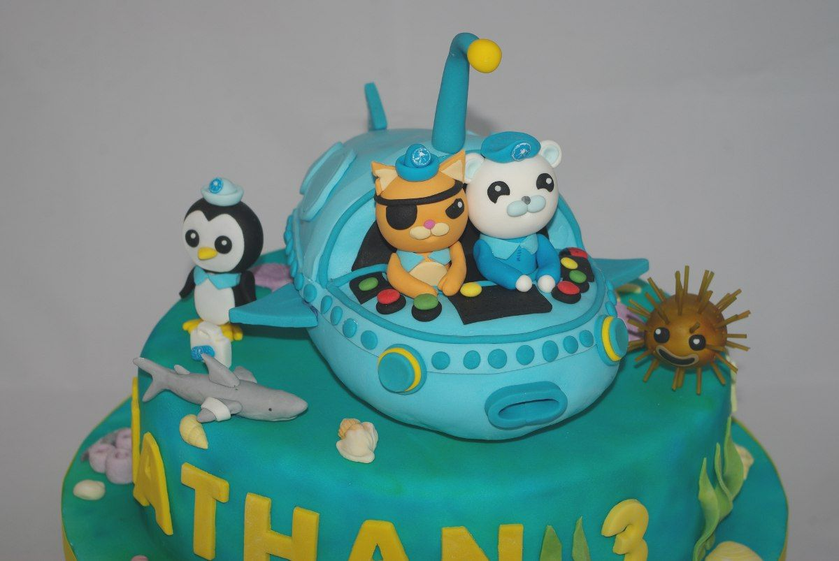 Octonauts Cake Cakes by Rachel Capstick birthday cake boys aiden