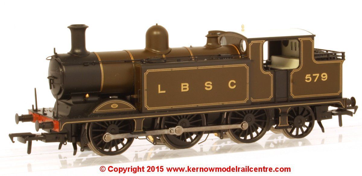 35-075 Bachmann Class E4 0-6-2 Steam Locomotive number 579 in LB