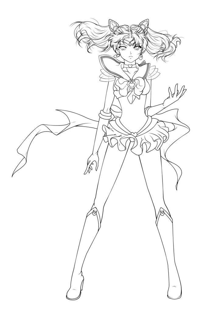 Sailor Moon Sailor Moon Coloring Pages Sailor Moon Tattoo Sailor Mini Moon