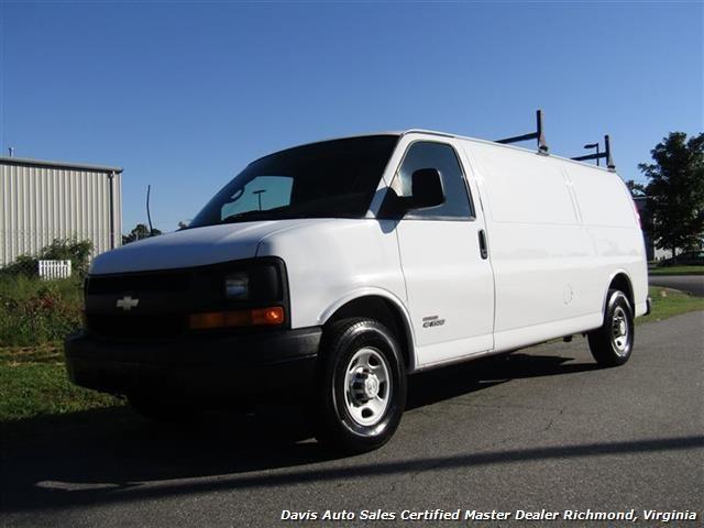 2006 Chevrolet Express G 3500 6 6 Diesel Duramax Extended Length