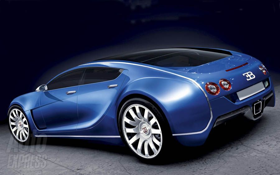 Four Door Bugatti Veyron Royale - Additional Renderings and ...