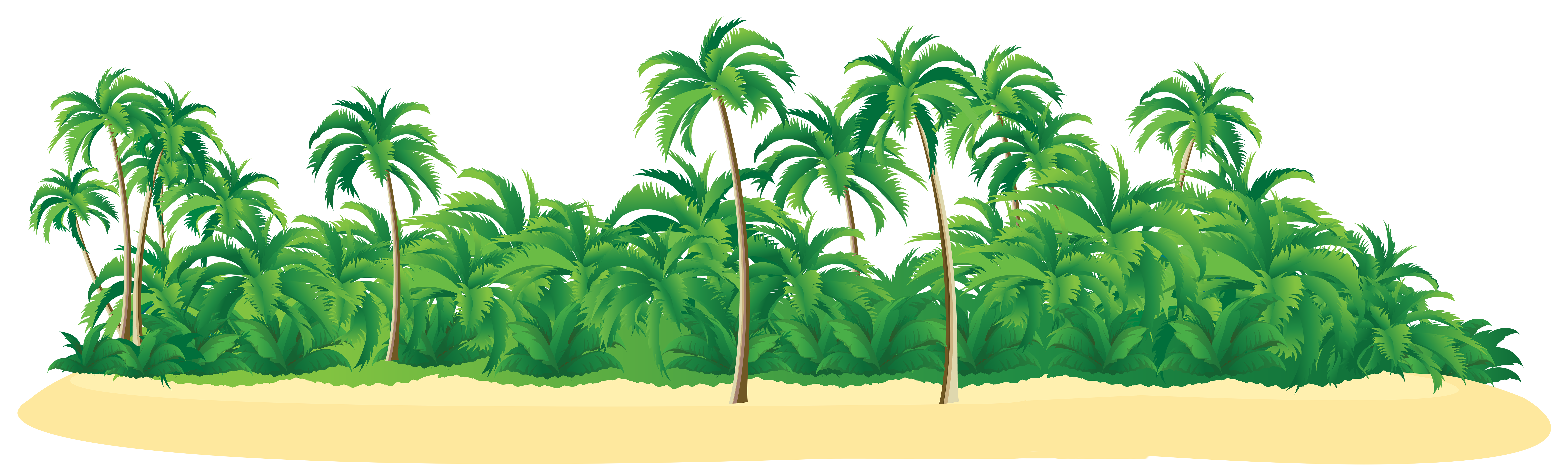 Summer Tropical Island With Palm Trees Png Clip Art Image Gallery Yopriceville High Quality Images And Transpa Palm Tree Png Pine Tree Art Oak Tree Tattoo