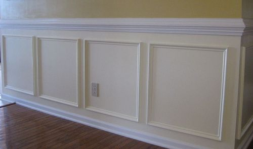Stair Box In Bedroom: Shadow Box Trim - Google Search