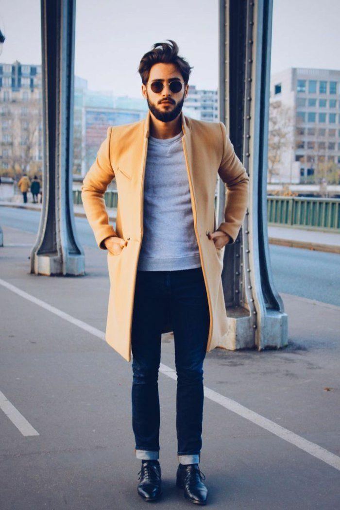 les tendances chez le manteau long homme en 48 photos manteau homme zara manteau camel et. Black Bedroom Furniture Sets. Home Design Ideas