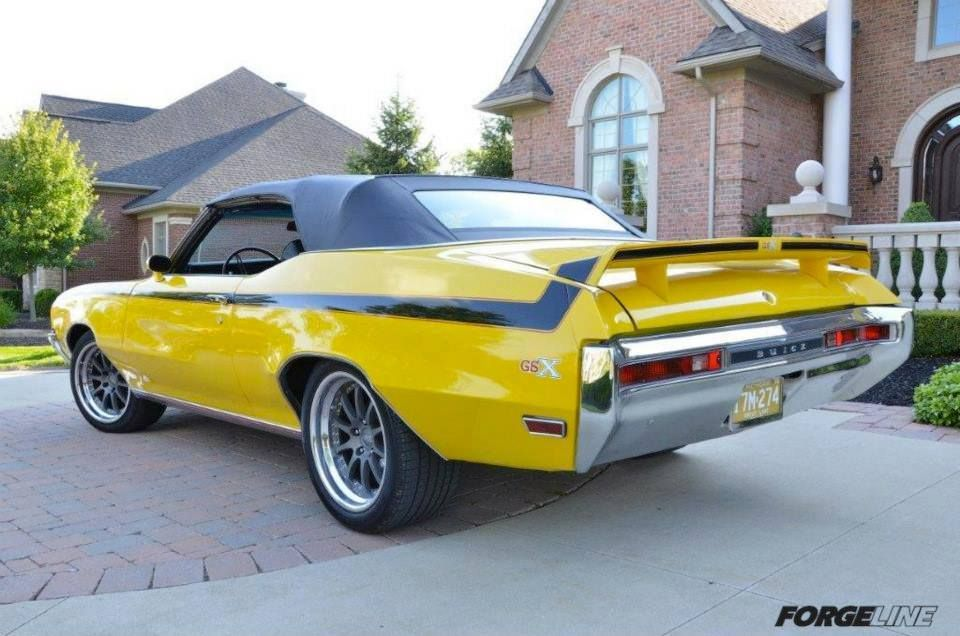 1970 Buick GSX Convertible Classic cars muscle, Buick