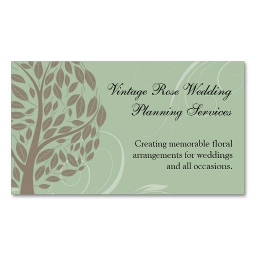 Sage green and soft brown stylized eco tree business card make your sage green and soft brown stylized eco tree business card make your own business card reheart Gallery