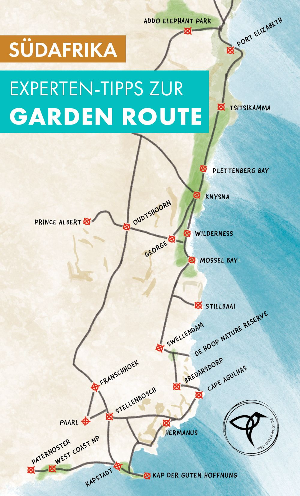 Garden Route In Sudafrika Highlights Tipps Route Fur Euren Roadtrip In 2020 Afrika Reisen Reiseblog Reisetipps
