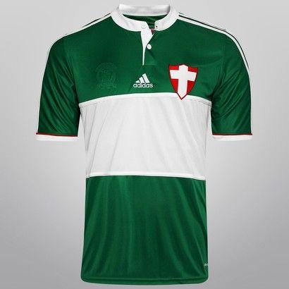 16dd39b716434 Camisa Adidas Palmeiras 14 15 s nº - Savoia - Mundo Palmeiras ...