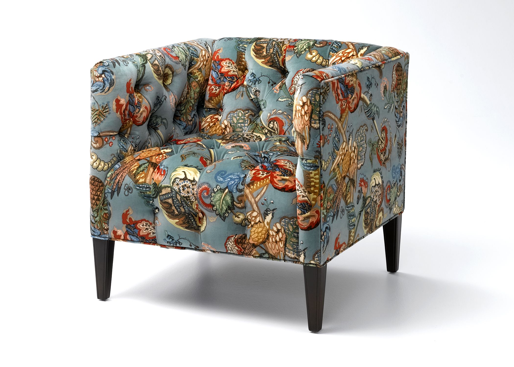 Wesley Hall Keyhaven Chair in an exclusive European print on