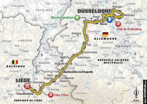 2 Juillet 2017 2 E Etape Dusseldorf Liege Tour De France 2017