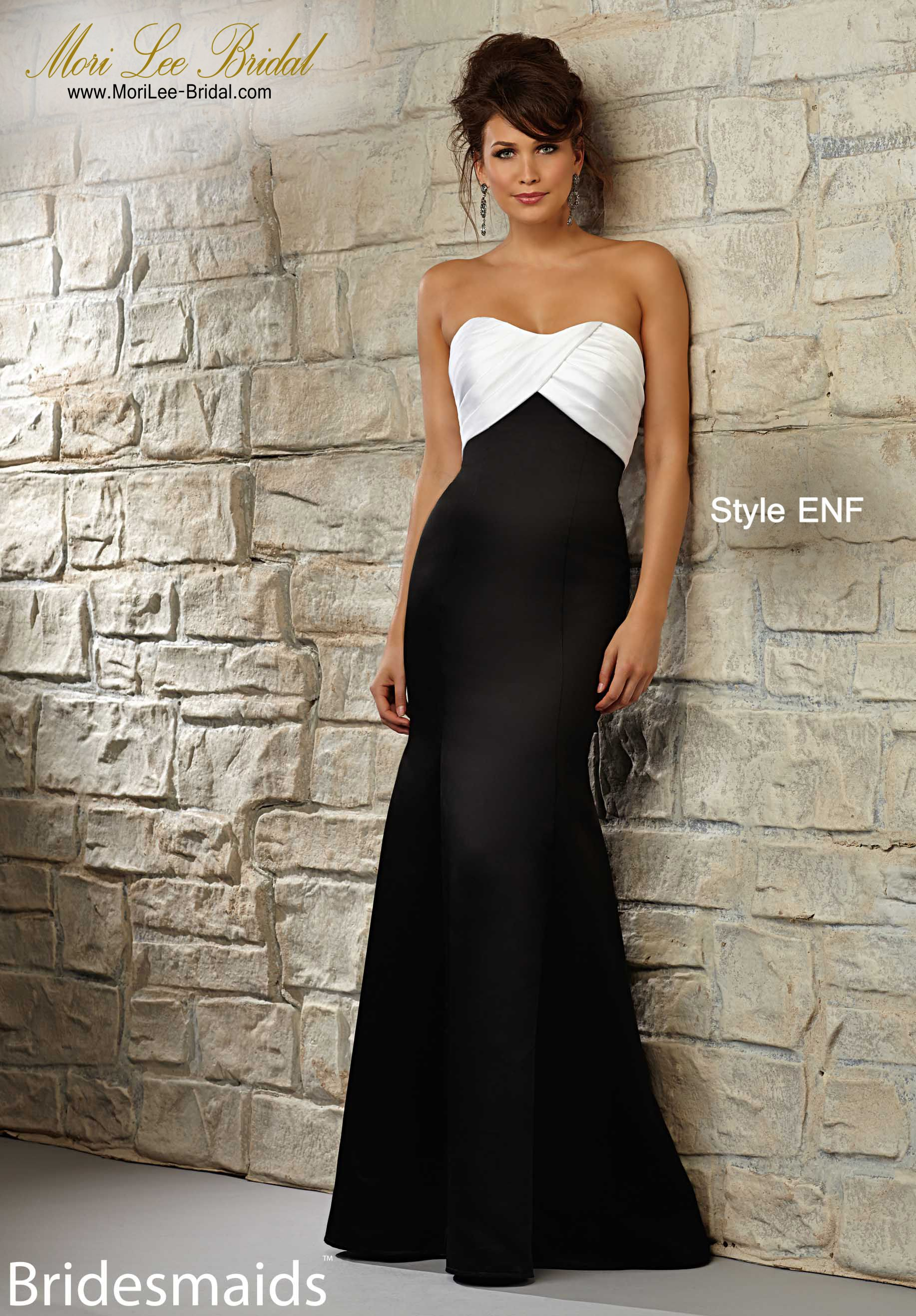 Dress Style Enf Satin Available In All Mori Lee Bridesmaids Satin Colors