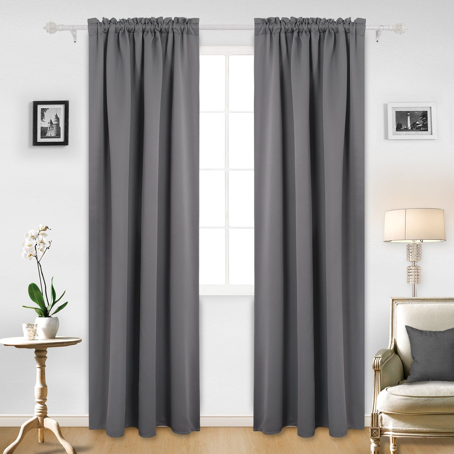 white curtains color efficiency com silky amazon dp of performance insulated window thermal drapery flamingo blackout grommet p energy curtain set lined