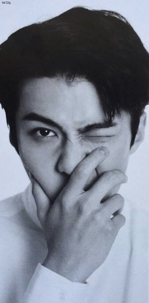 Scan Sehun - Exo_L Japan