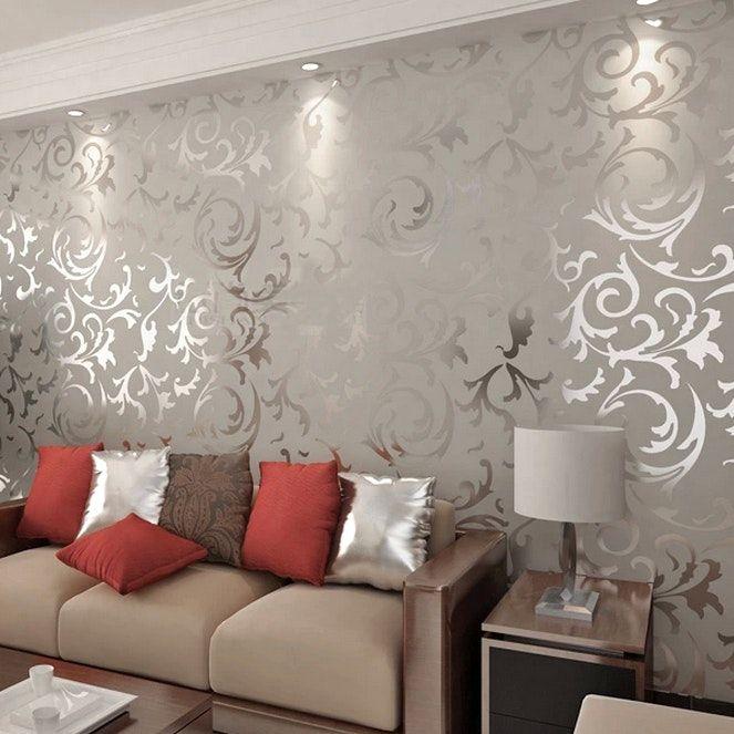 Papier peint salle a manger 4 murs avec salon on - Papier peint 4 murs salon ...