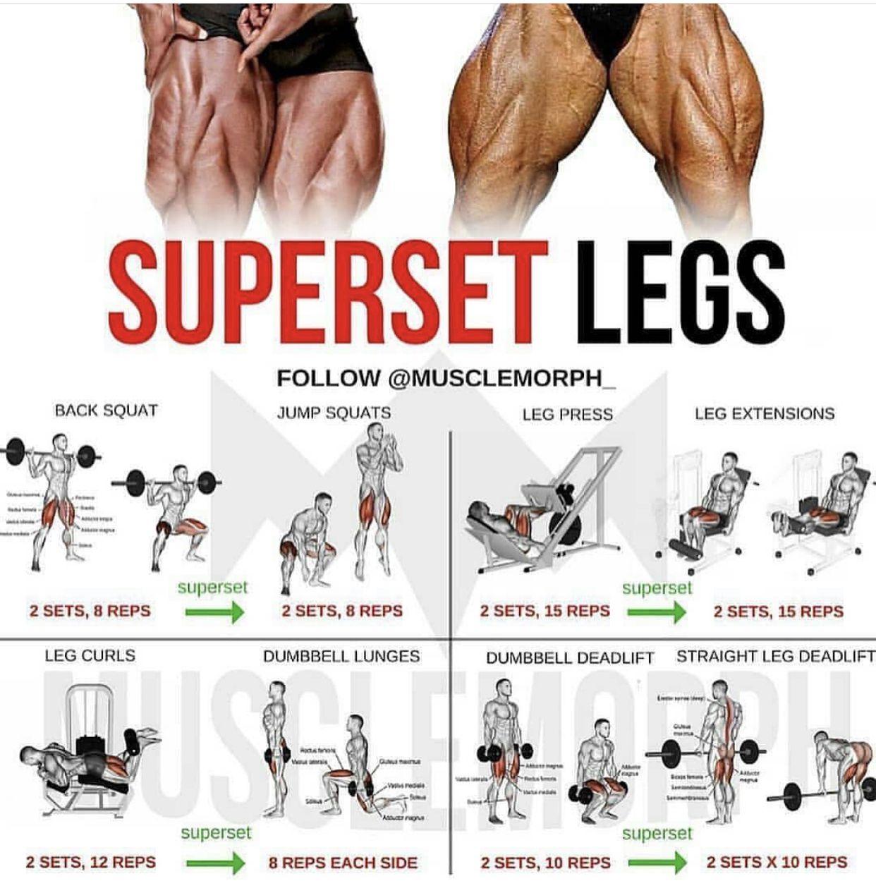 Pin by DAPIXARA on Fitness | Workout routine, Leg workouts ...