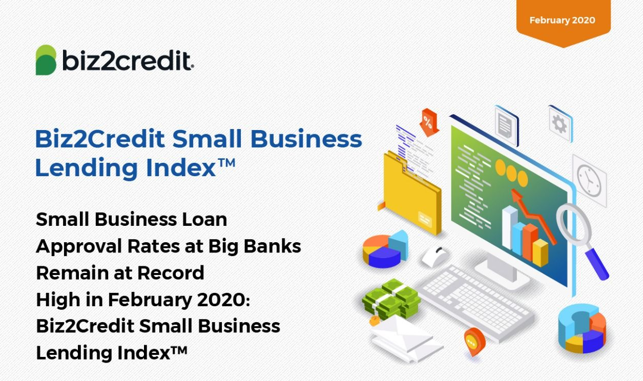 Infographic Small Business Lending Index February 2020 In 2020 Small Business Lending Small Business Loans Business